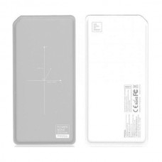 Remax Wireless PPP-33 White/Grey 10000mAh Power Bank
